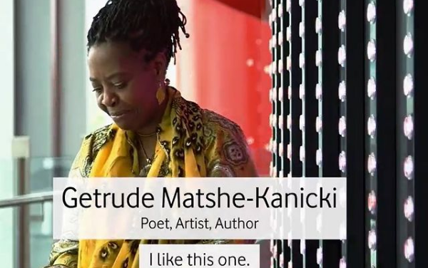 Vodafone celebrations of#InternationalWomensDaymeet Getrude Matshe-Kanicki