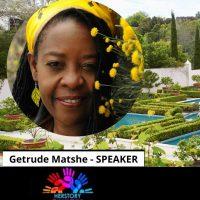 HerStory Workshop Speaker Tags - Getrude Matshe